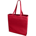 Red - Front - Bullet Odessa Cotton Tote