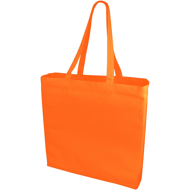 Orange - Front - Bullet Odessa Cotton Tote