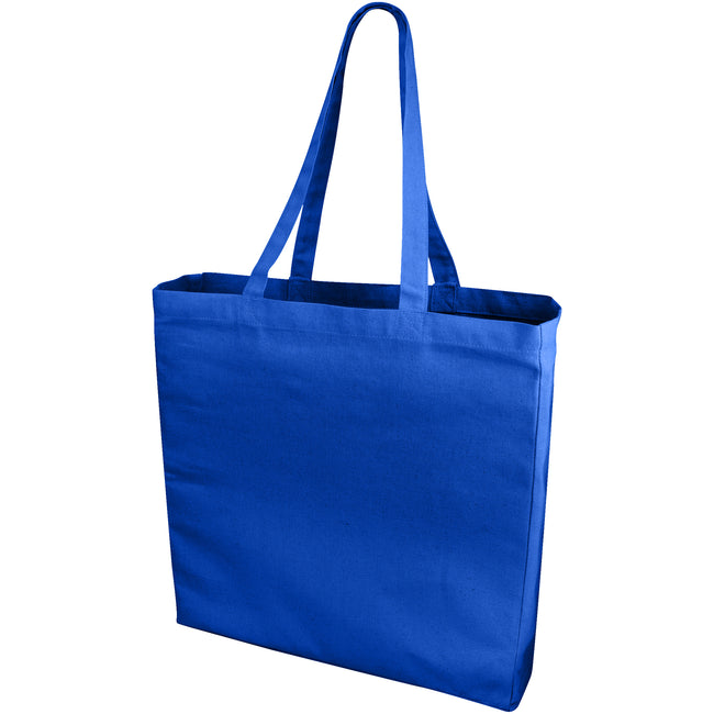 Royal Blue - Front - Bullet Odessa Cotton Tote