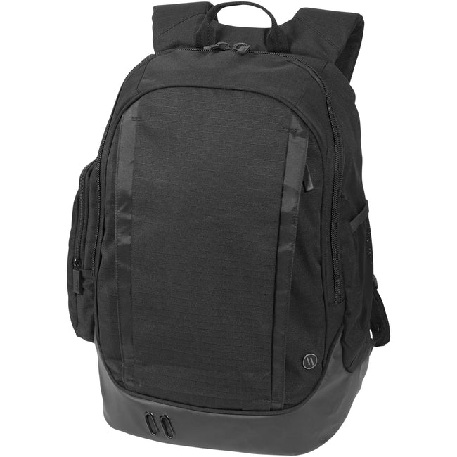 Solid Black - Front - Elleven Core 15in Computer Backpack