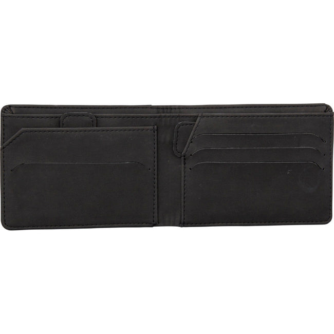 Solid Black - Side - Marksman Adventurer RFID Wallet