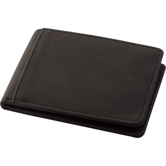 Solid Black - Front - Marksman Adventurer RFID Wallet