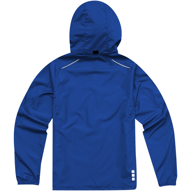 Blue - Back - Elevate Womens-Ladies Flint Lightweight Jacket