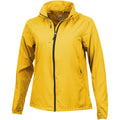 Yellow - Front - Elevate Womens-Ladies Flint Lightweight Jacket
