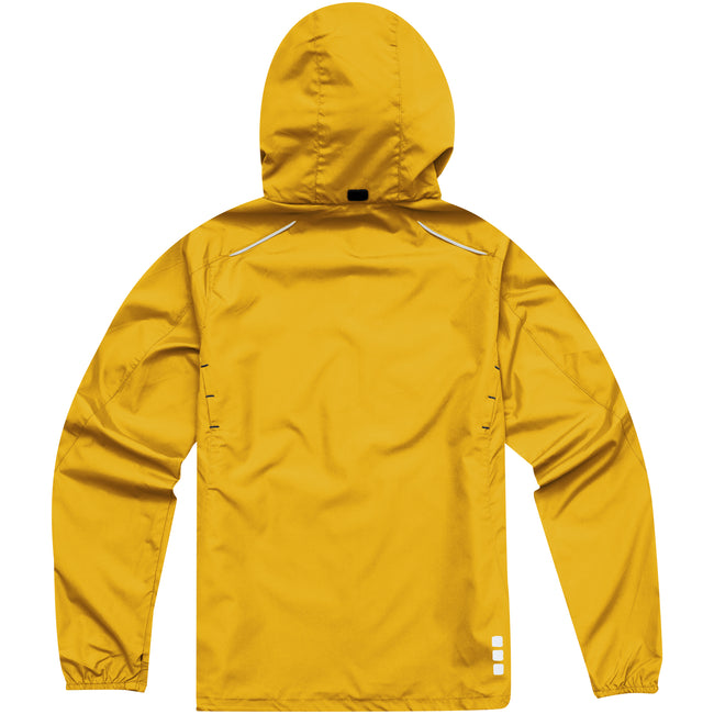 Yellow - Back - Elevate Womens-Ladies Flint Lightweight Jacket
