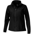 Solid Black - Front - Elevate Womens-Ladies Flint Lightweight Jacket