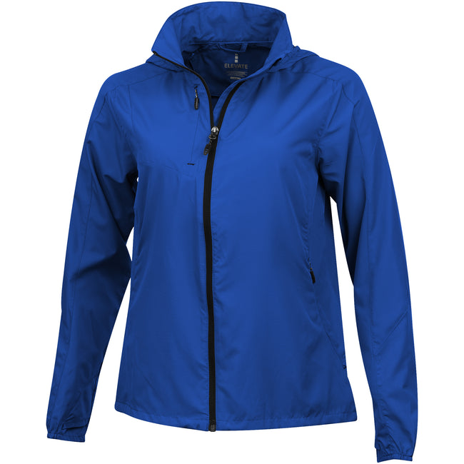 Blue - Front - Elevate Womens-Ladies Flint Lightweight Jacket