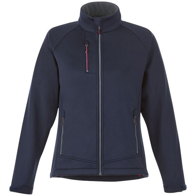 Grey - Front - Slazenger Chuck Womens-Ladies Softshell Jacket