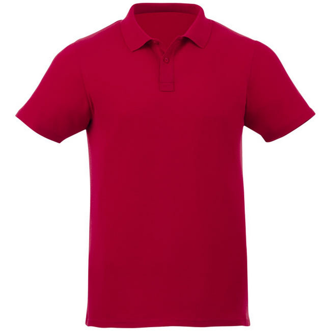 Red - Front - Elevate Liberty Mens Short Sleeve Polo Shirt