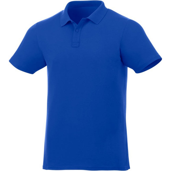 Blue - Front - Elevate Liberty Mens Short Sleeve Polo Shirt