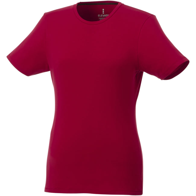 Red - Front - Elevate Womens-Ladies Balfour T-Shirt