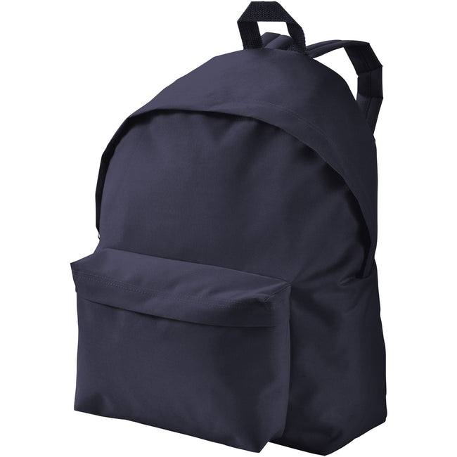 Navy - Front - Bullet Urban Backpack (Pack of 2)