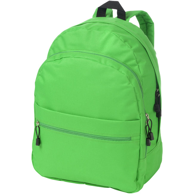 Bright Green - Front - Bullet Trend Backpack (Pack of 2)