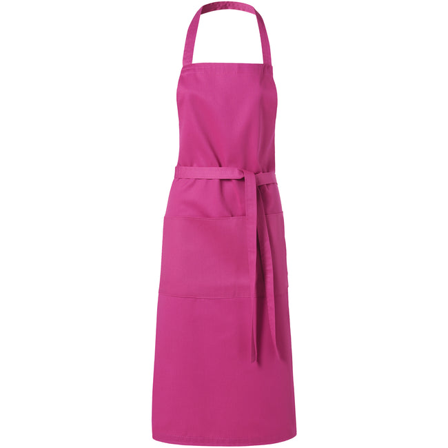 Magenta - Front - Bullet Viera Apron (Pack of 2)