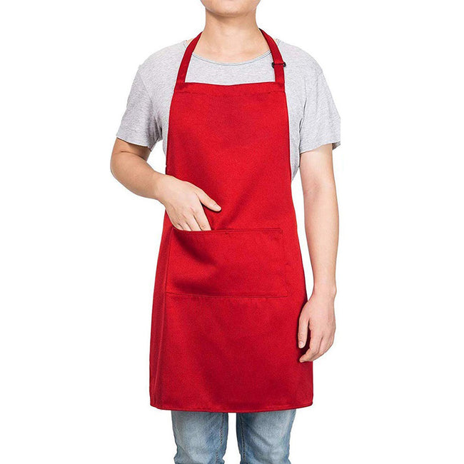 Red - Back - Bullet Viera Apron (Pack of 2)