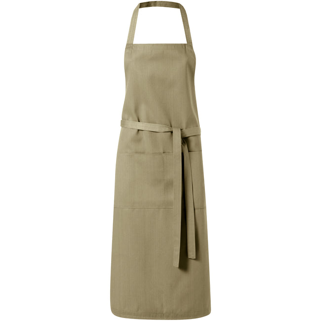 Khaki - Front - Bullet Viera Apron (Pack of 2)