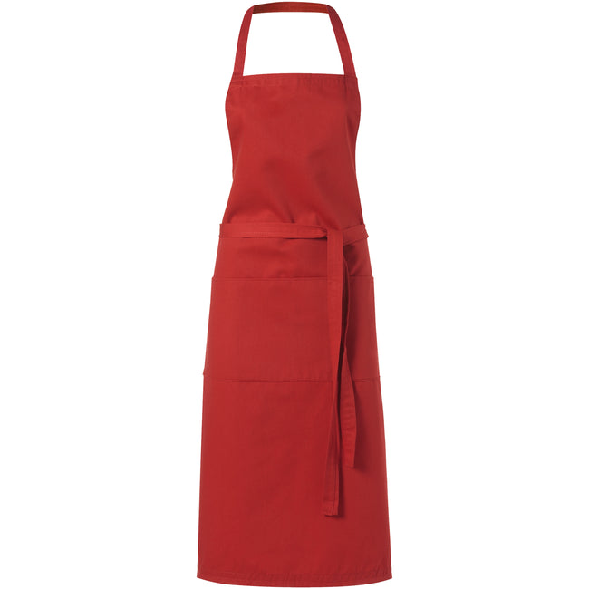 Red - Front - Bullet Viera Apron (Pack of 2)