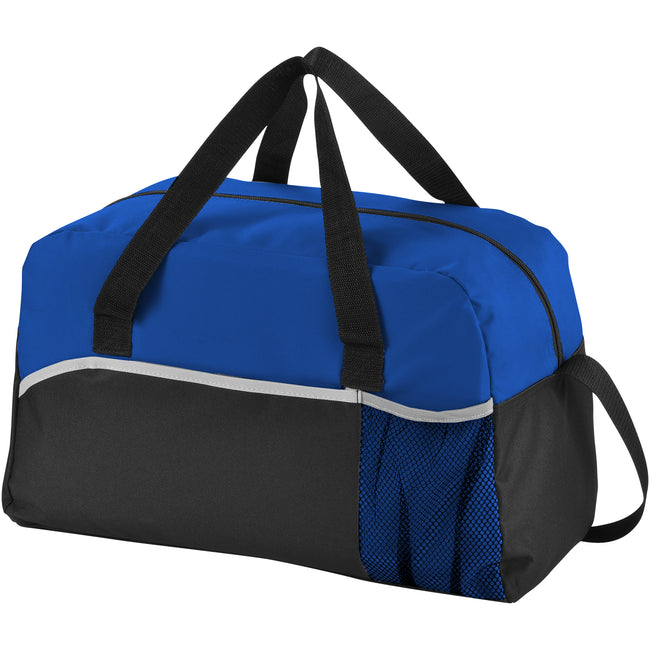 Solid Black-Royal Blue - Front - Bullet The Energy Duffel Bag (Pack of 2)