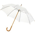 Burgundy - Front - Bullet 23 Inch Jova Classic Umbrella (Pack of 2)