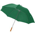 Green - Front - Bullet 30in Golf Umbrella (Pack of 2)