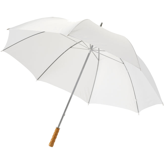 Orange - Front - Bullet 30in Golf Umbrella (Pack of 2)