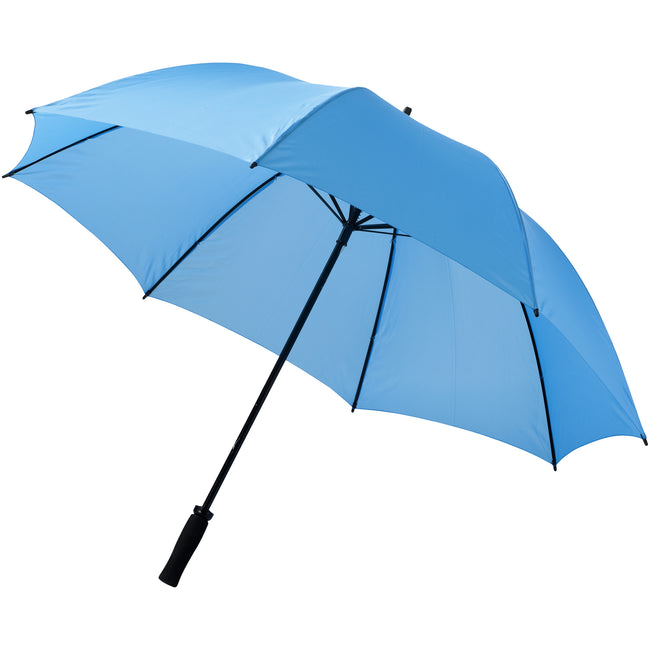 Blue - Front - Bullet 30in Yfke Storm Umbrella (Pack of 2)