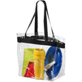 Transparent Clear-Solid Black - Back - Bullet Hampton Tote (Pack of 2)