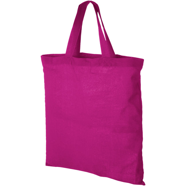 Pink - Front - Bullet Virginia Cotton Tote (Pack of 2)