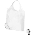 White - Back - Bullet Scrunchy Shopping Tote Bag