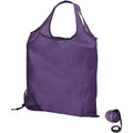 Lavender - Back - Bullet Scrunchy Shopping Tote Bag