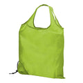 Lime - Front - Bullet Scrunchy Shopping Tote Bag