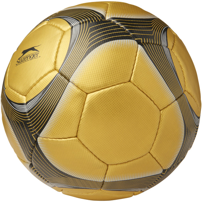 Gold - Front - Slazenger Balondorro 32 Panel Football
