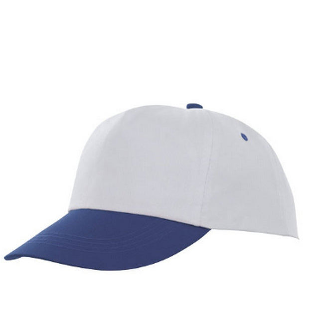 Blue-White - Front - Bullet Icarus 5 Panel Cap