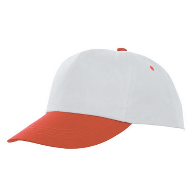 Orange-White - Front - Bullet Icarus 5 Panel Cap