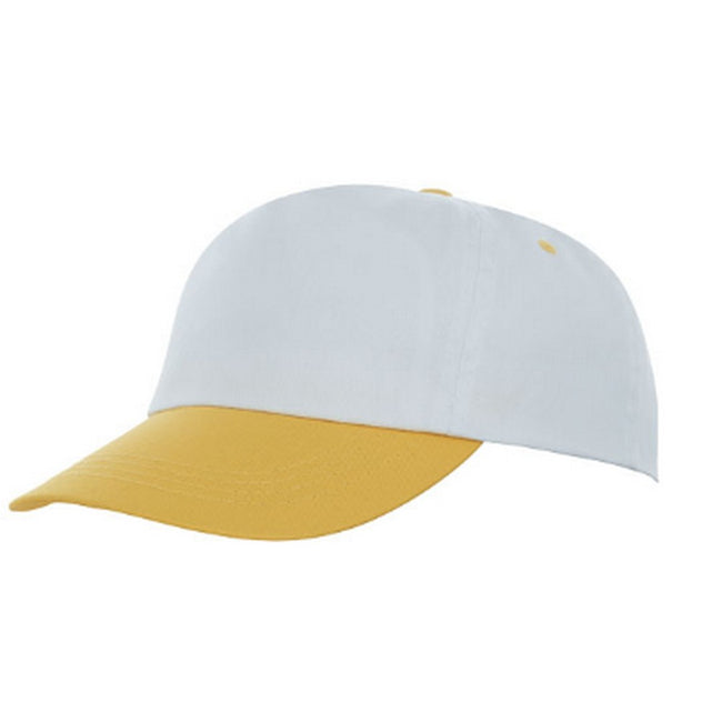Yellow-White - Front - Bullet Icarus 5 Panel Cap