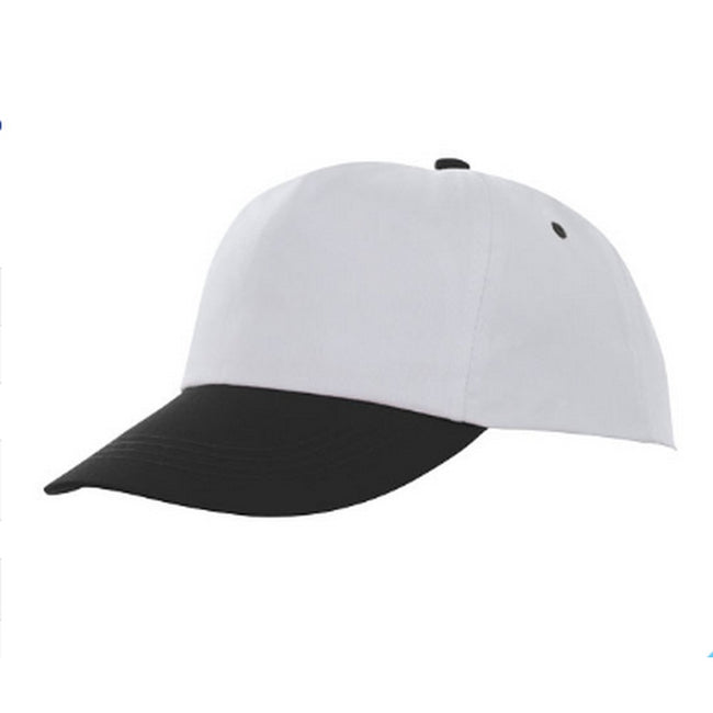 Black-White - Front - Bullet Icarus 5 Panel Cap