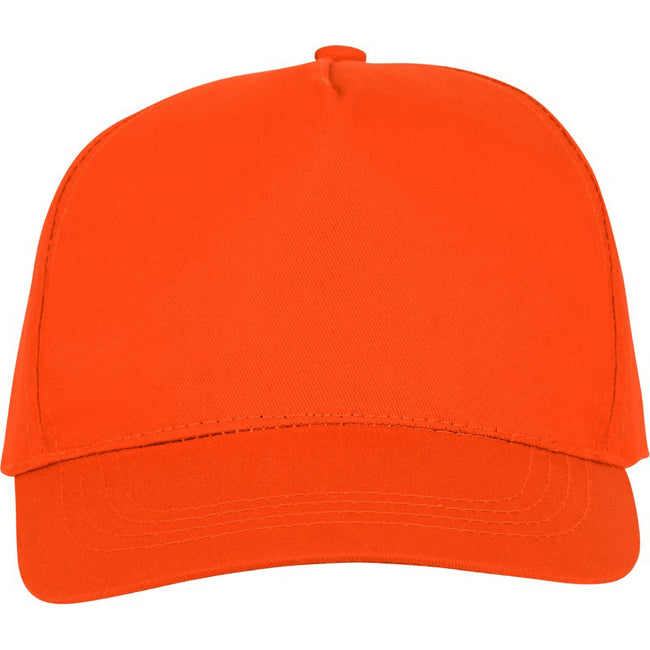 Orange - Back - Bullet Unisex Hades 5 Panel Cap