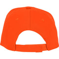 Orange - Side - Bullet Unisex Hades 5 Panel Cap