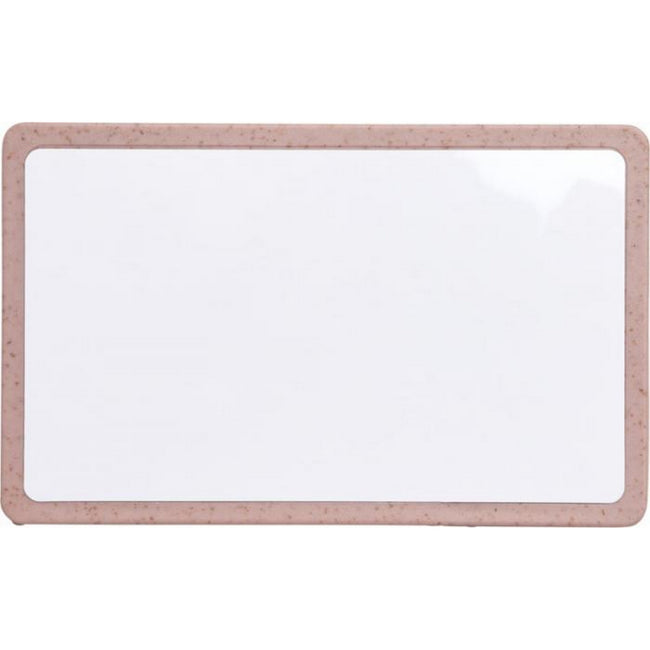 Pink - Back - Bullet Grass RFID Multi-card Holder