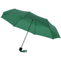 Green - Front - Bullet 21.5in Ida 3-Section Umbrella
