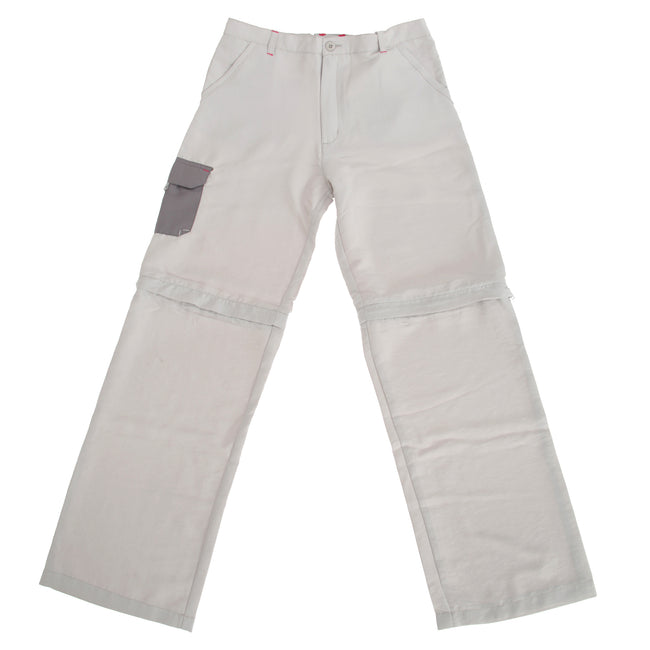 Platinum - Side - Regatta Great Outdoors Childrens-Boys Sorcer Zip-Off Trousers