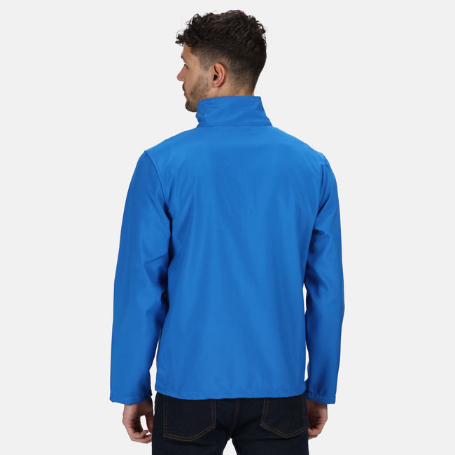 Oxford Blue - Side - Regatta Classic Mens Water Repellent Softshell Jacket