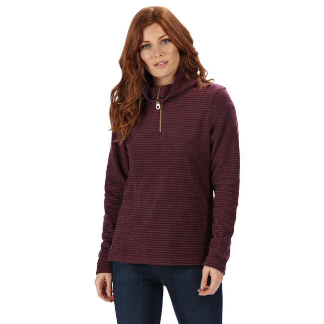Prune - Side - Regatta Womens-Ladies Solenne Fleece