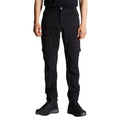 Black - Side - Dare2B Mens Tuned In Zip Off Trousers