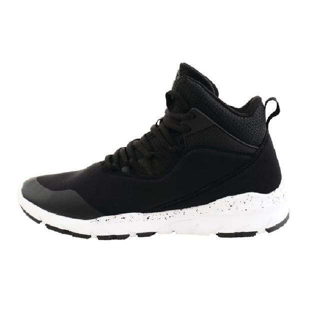 Black-White - Back - Dare 2B Childrens-Boys Uno Millenium Mid Trainers