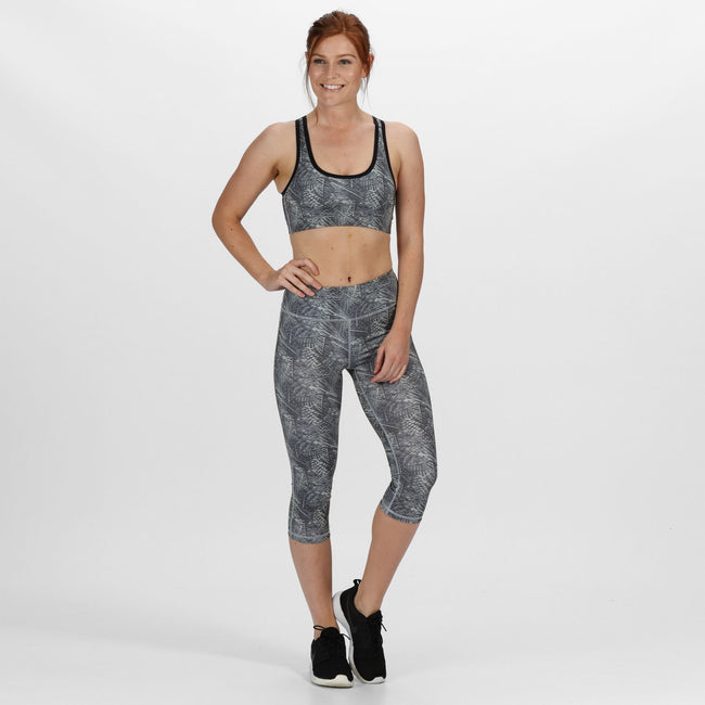 Ceramic Print - Front - Regatta Womens-Ladies Pincha 3-4 Leggings