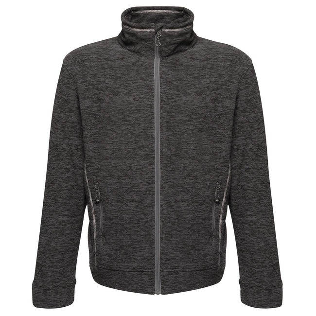 Seal Grey Marl - Front - Regatta Mens Thornly Full Zip Fleece