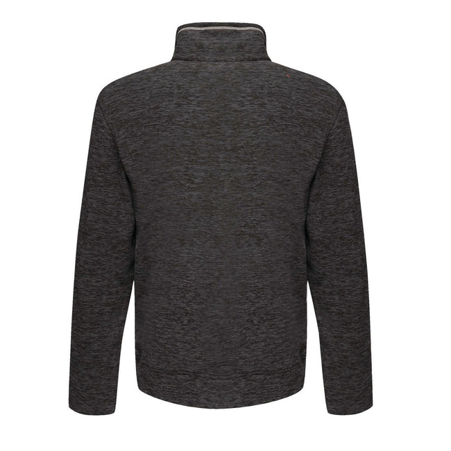 Seal Grey Marl - Back - Regatta Mens Thornly Full Zip Fleece