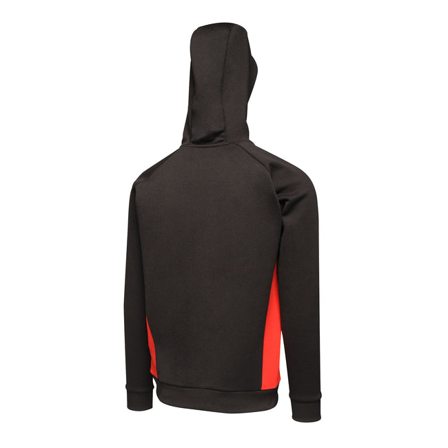 Black-Classic Red - Back - Regatta Mens Vancouver Drawcord Hoodie