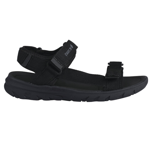 Black-Black - Front - Dare 2b Mens Xiro Sandals